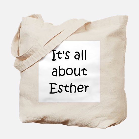 Unique Esther Tote Bag