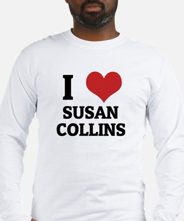 I Love Susan Collins Long Sleeve T-Shirt