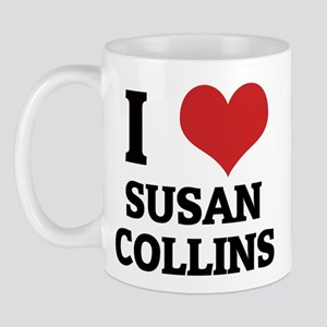 I Love Susan Collins Mug