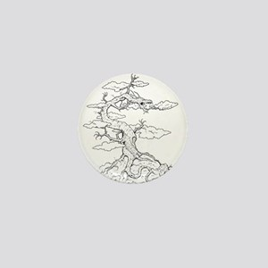 Ink Dragon Tree Mini Button