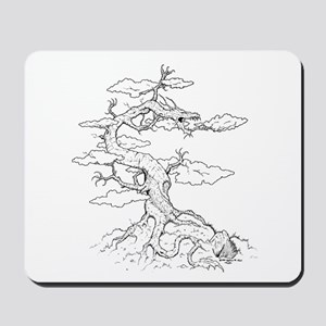 Ink Dragon Tree Mousepad