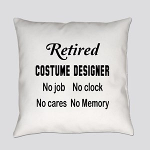 Retired Costume designer Everyday Pillow