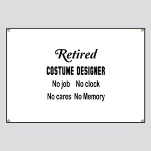 Retired Costume designer Banner
