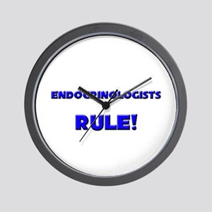 Endocrinologists Rule! Wall Clock
