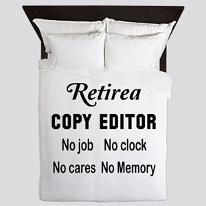 Retired Copy editor Queen Duvet