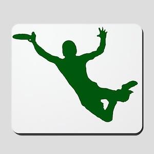 GREEN DISC CATCH Mousepad