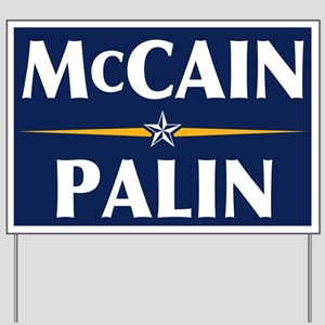 McCain-Palin Yard Sign