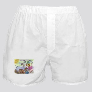 Mind of A Jack Russell Boxer Shorts