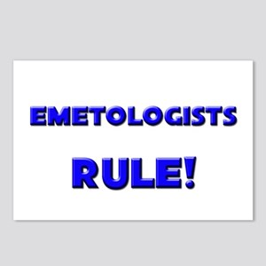 Emetologists Rule! Postcards (Package of 8)
