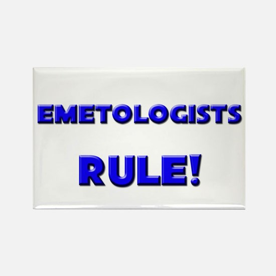 Emetologists Rule! Rectangle Magnet