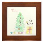 Holidays 2008 Framed Tile