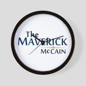 The Maverick - John McCain Wall Clock