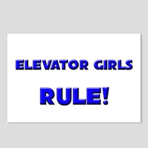 Elevator Girls Rule! Postcards (Package of 8)