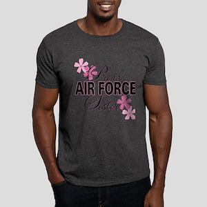 Proud Air Force Sister Dark T-Shirt