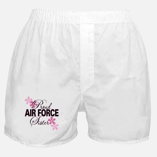 Proud Air Force Sister Boxer Shorts