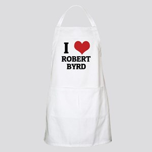 I Love Robert Byrd BBQ Apron
