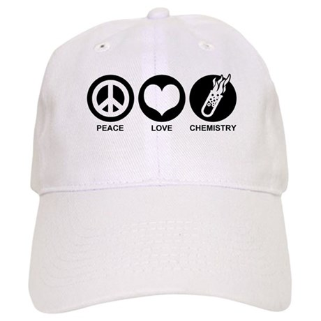 Peace Love Chemistry Cap