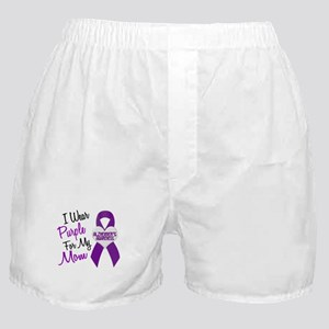 I Wear Purple For My Mom 18 (AD) Boxer Shorts