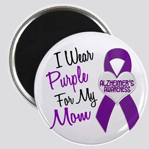 I Wear Purple For My Mom 18 (AD) Magnet