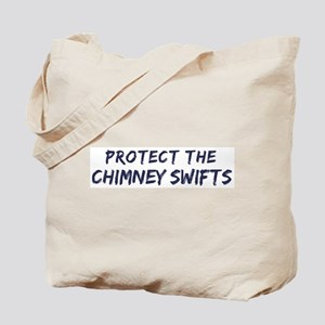 Protect the Chimney Swifts Tote Bag