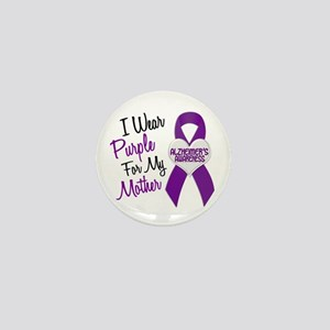 I Wear Purple For My Mother 18 (AD) Mini Button