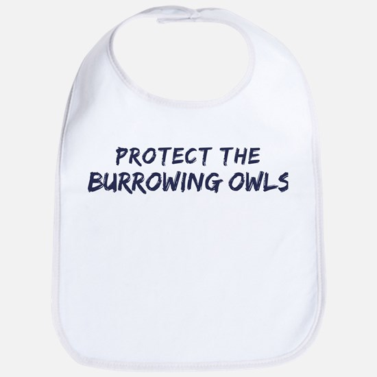 Protect the Burrowing Owls Bib