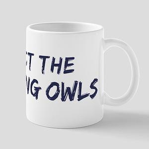 Protect the Burrowing Owls Mug