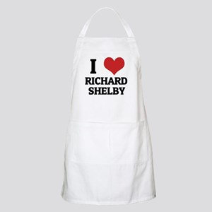 I Love Richard Shelby BBQ Apron