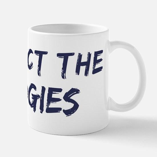 Protect the Budgies Mug