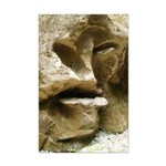 Face in the Rock Mini Poster Print