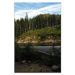 Eel River at Leggett Creek Large Poster