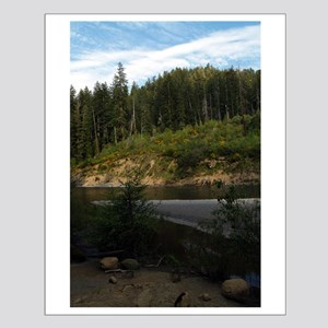 Eel River at Leggett Creek Small Poster
