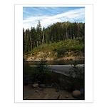 Eel River at Leggett Creek Small Poster