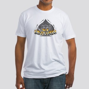 THE BULLY HOUSE LOGO Fitted T-Shirt