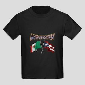 MexiRican Flags centered T-Shirt