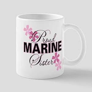 Proud Marine Sister Mug
