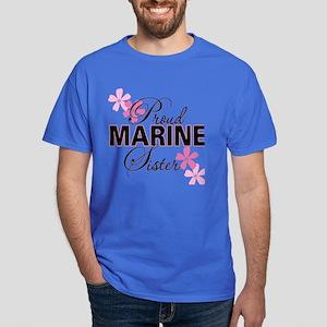 Proud Marine Sister Dark T-Shirt