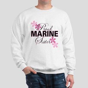 Proud Marine Sister Sweatshirt