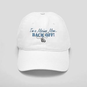Marines Mom BACK OFF! Cap