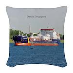 Damia Desgagnes Woven Throw Pillow