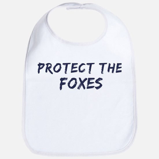Protect the Foxes Bib