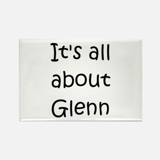 Cute Glenn Rectangle Magnet