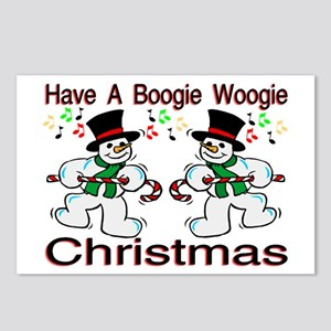 Boogie Christmas Postcards (Package of 8)