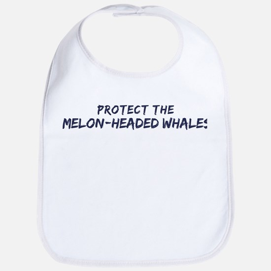Protect the Melon-Headed Whal Bib
