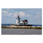 Cleveland Harbor Main Entrance Light 4' X 6&#3