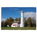 Sturgeon Point Lighthouse 4' X 6' Rug