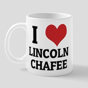 I Love Lincoln Chafee Mug