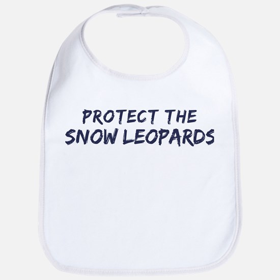 Protect the Snow Leopards Bib