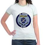USS DAVIDSON Jr. Ringer T-Shirt