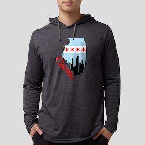 Chicago Illinois Long Sleeve T-Shirt